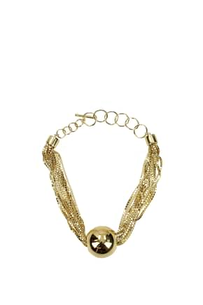 Bottega Veneta Necklaces Women Silver Gold