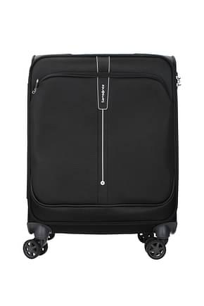 Samsonite Wheeled Luggages popsoda 40l Men Polyester Black