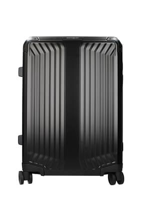 Samsonite Wheeled Luggages lite box alu 40l Men Aluminum Black