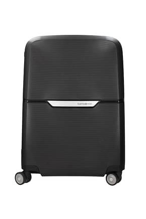 Samsonite Wheeled Luggages magnum 38l Men Polypropylene Black