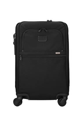 Tumi Wheeled Luggages alpha 3 34l Men Polypropylene Black