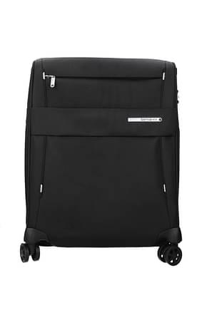 Samsonite Wheeled Luggages duopack 42/49l Men Polycarbonate Black