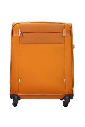 Samsonite Wheeled Luggages citybeat 42l Men Polyester Orange Apricot