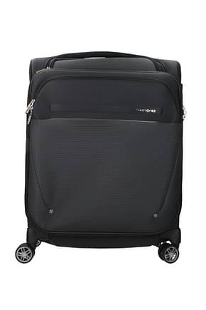 Samsonite Wheeled Luggages b-lite icon 39/44l Men Nylon Black Grey