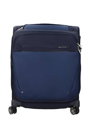 Samsonite Wheeled Luggages b-lite icon 39/44l Men Nylon Blue Dark Blue
