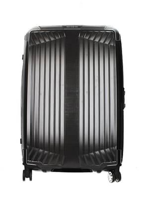 Samsonite Wheeled Luggages lite box 75l Women Polypropylene Black