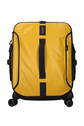 Samsonite Wheeled Luggages paradiver light 50l Men Polyester Yellow