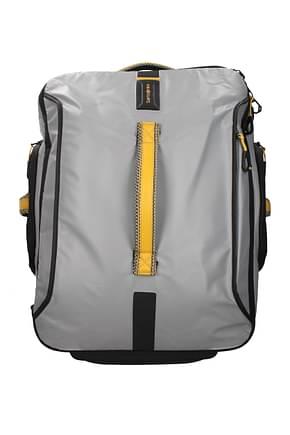 Samsonite Wheeled Luggages paradiver light 51l Men Polyester Gray Pollen