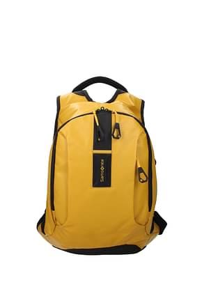 Samsonite Backpack and bumbags paradiver light 16 l Men Polyurethane Yellow Mustard