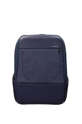 Samsonite Backpack and bumbags urban act 19.5l Men Polyester Blue Jeans