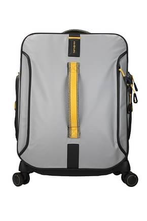 Samsonite Wheeled Luggages paradiver light 50l Men Polyester Gray Pollen