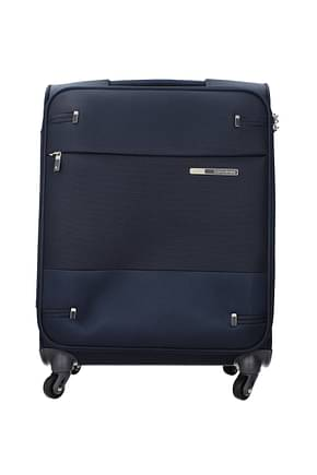 Samsonite Wheeled Luggages base boost 39l Men Polyester Blue Blue Navy