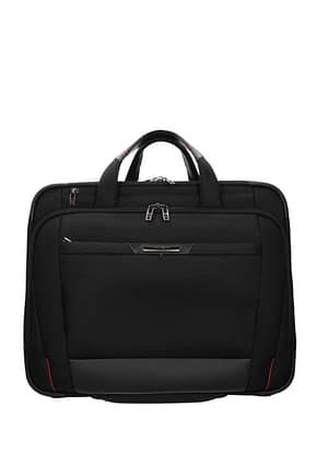 Samsonite Wheeled Luggages pro dlx 5 37.5l Men Nylon Black