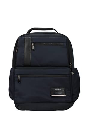 Samsonite Backpack and bumbags openroad Men Nylon Blue Royal Blue