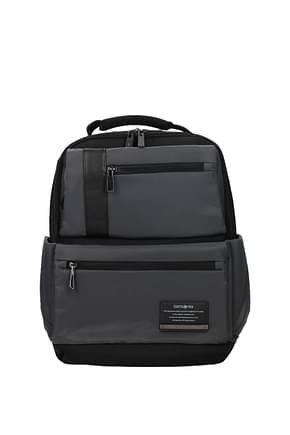 Samsonite Backpack and bumbags openroad 15.5l Men Nylon Gray Fog