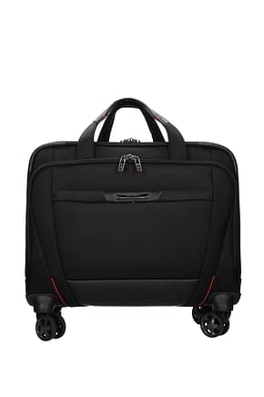Samsonite Wheeled Luggages pro dlx 5 22l Men Nylon Black