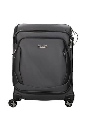 Samsonite Wheeled Luggages xblade 4.0 41l Men Nylon Gray Dark Grey