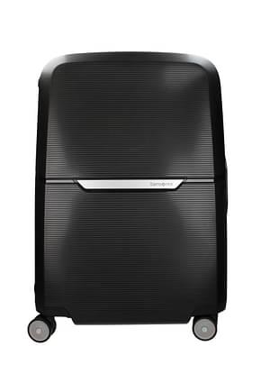 Samsonite Wheeled Luggages magnum spinner 69 82l Men Polypropylene Black