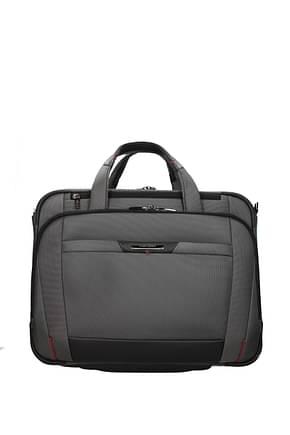 Samsonite Wheeled Luggages pro dlx 5 29.5/37l Men Nylon Gray