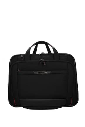 Samsonite Wheeled Luggages pro dlx 5 34.5l Men Nylon Black