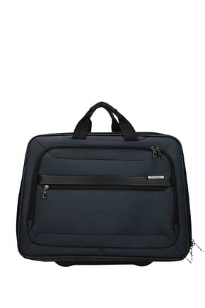 Samsonite Wheeled Luggages vectura evo 27.5l Men Polyester Blue Mineral Blue