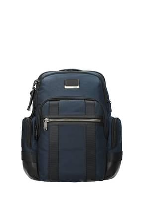 Tumi Backpack and bumbags nathan bravo Men Nylon Blue Blue Navy