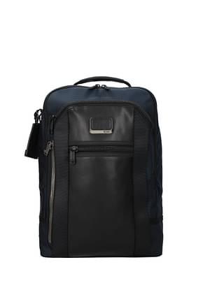 Tumi Backpack and bumbags davis Men Nylon Blue Blue Navy