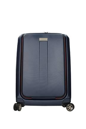 Samsonite Wheeled Luggages prodigy 40l Men Polycarbonate Blue Orange