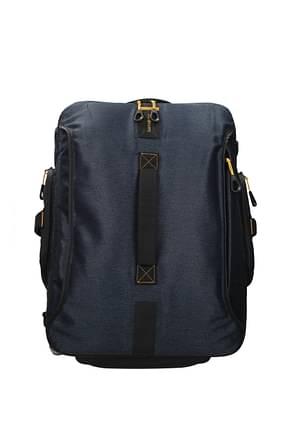 Samsonite Wheeled Luggages paradiver light 51l Men Polyurethane Blue Jeans