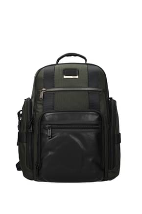 Tumi Backpack and bumbags alpha bravo Men Nylon Green Olive