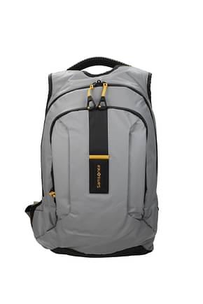 Samsonite Backpack and bumbags paradiver light 19l Men Nylon Gray Pastel Grey