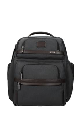 Tumi Backpack and bumbags t-pass alpha 3 Men Polyester Gray Anthracite
