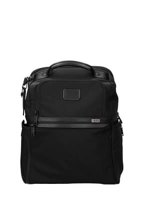 Tumi Backpack and bumbags alpha 3 Men Nylon Black