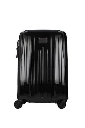 Tumi Wheeled Luggages v4 37l Men Polycarbonate Black