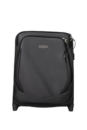 Samsonite Wheeled Luggages x blade 4.0 46/51.5l Men Polyester Gray Black