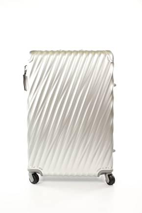 Tumi Wheeled Luggages 84l Men Aluminum Silver Aluminum
