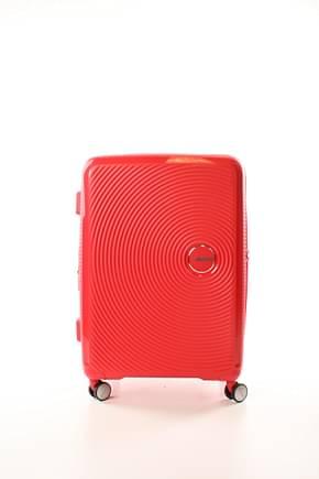 American Tourister Trolley soundbox 71.5/81l Mujer Polipropileno Rojo Coral