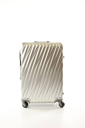 Tumi Wheeled Luggages 19 degree aluminium 55l Men Aluminum Silver