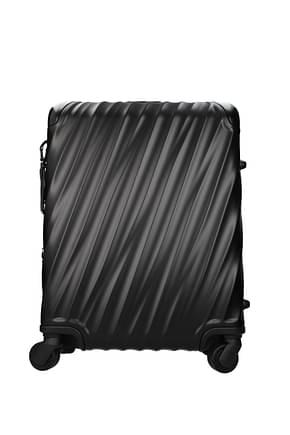 Tumi Wheeled Luggages 35l Men Aluminum Black