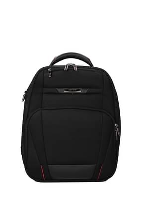 Samsonite Backpack and bumbags pro dlx 5 21/28l Men Nylon Black