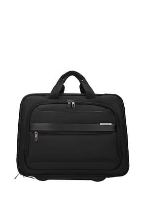 Samsonite Wheeled Luggages vectura evo 20.5l Men Polyester Black