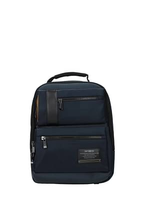 Samsonite Backpack and bumbags openroad 11l Men Nylon Blue Graphite Blue