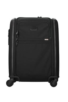 Tumi Wheeled Luggages 42l Men Nylon Black