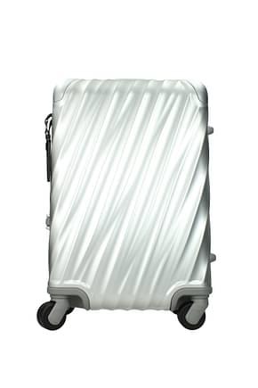 Tumi Wheeled Luggages 19 degree aluminum 31l Men Aluminum Silver