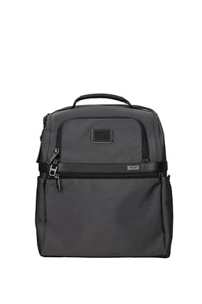 Tumi Backpack and bumbags alpha 2 Men Polyester Gray Nickel