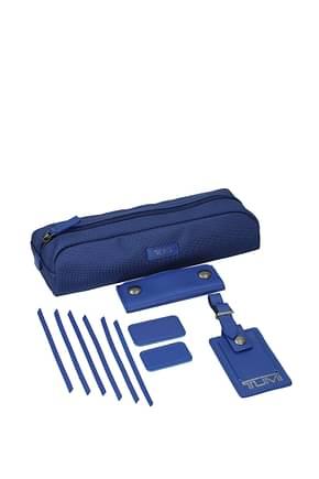 Tumi Idee regalo kit 10 accessories Uomo Nylon Blu Blu Elettrico