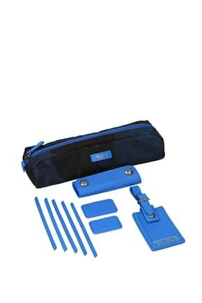 Tumi Idee regalo kit 10 accessories Uomo Nylon Blu