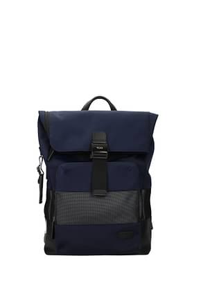Tumi Backpack and bumbags oak rolll Men Nylon Blue Blue Navy