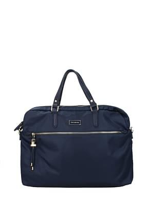 Samsonite Work bags karissa biz 10l Women Polyamide Blue Blue Navy