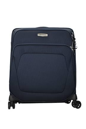 Samsonite Wheeled Luggages spark sng 62.5l Men Polyester Blue
